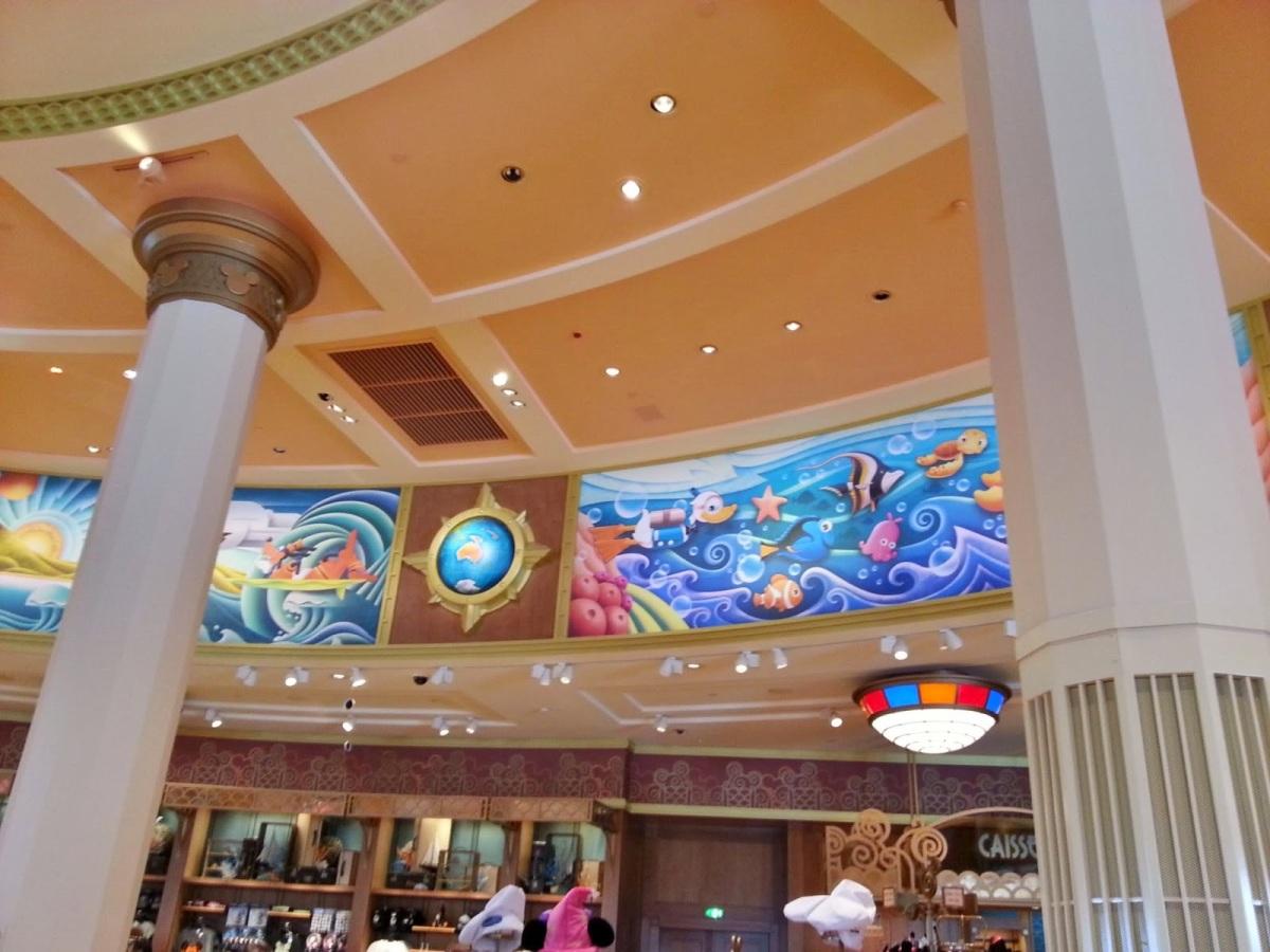 Disney Village: Centro de lojas e restaurantes na Disneyland Paris (Euro Disney)