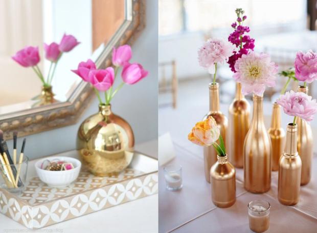 decoração+gold+dourada+vasos-de-flores+a-garota-que-coleciona-sonhos