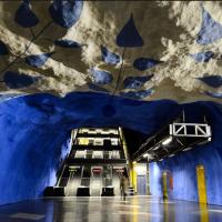 Fantásticas Estações de Metro na Suécia